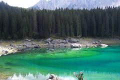 Antonio: Lago di Carezza... Ora resto a casa.
