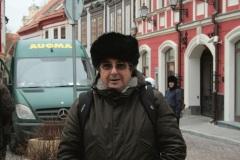 Vilnius...ma ora resto a casa. Fa troppo freddo !