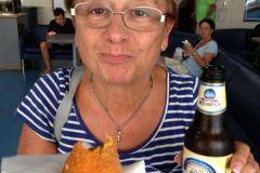 Messina: l'arancino sul traghetto...ma ora resto a casa